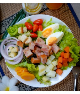 ham Salad   honey garlic dressing